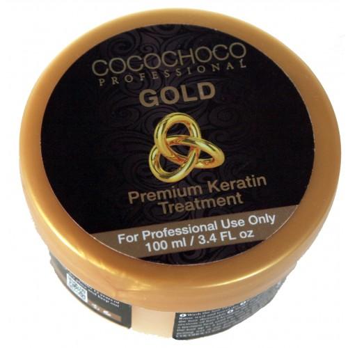 Cocochoco professional GOLD PREMIUM keratin 100ml